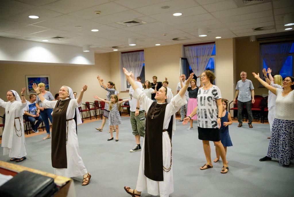 Spotkanie ze Wspólnotą Błogosławieństw - Góra Świętej Anny